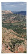 07.30.14 Palo Duro Canyon - Lighthouse Trail 5e Beach Towel