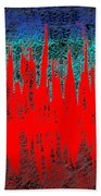 0738 Abstract Thought Beach Towel