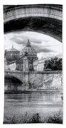 0750 St. Peter's Basilica Beach Towel