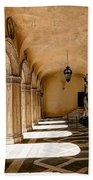 0758 Doge Palace - Venice Italy Beach Towel