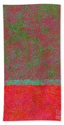 0764 Abstract Thought Beach Towel