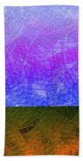 0770 Abstract Thought Beach Towel