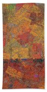 0774 Abstract Thought Beach Towel