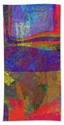0781 Abstract Thought Beach Towel