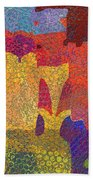0787 Abstract Thought Beach Towel