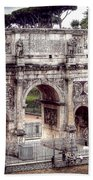 0793 Arch Of Constantine Beach Towel
