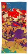 0806 Abstract Thought Beach Towel