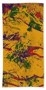 0859 Abstract Thought Beach Sheet