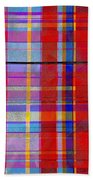 0865 Abstract Thought Beach Towel