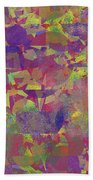 0866 Abstract Thought Beach Towel