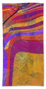 0871 Abstract Thought Beach Towel