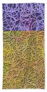 0872 Abstract Thought Beach Towel