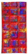 0890 Abstract Thought Beach Towel