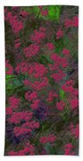 0901 Abstract Thought Beach Towel