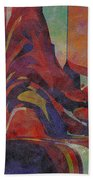 0910 Abstract Thought Beach Towel