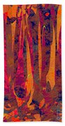0917 Abstract Thought Beach Towel