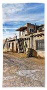 0926 Sky City - New Mexico Beach Towel