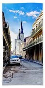 0928 St. Louis Cathedral - New Orleans Beach Towel