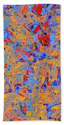 0930 Abstract Thought Beach Towel
