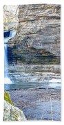 0940 Cascade Falls - Matthiessen State Park Beach Towel
