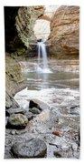 0941 Cascade Falls - Matthiessen State Park Beach Towel