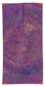 0965 Abstract Thought Beach Towel