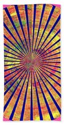 0966 Abstract Thought Beach Towel