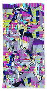 0978 Abstract Thought Beach Towel