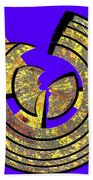 0985 Abstract Thought Beach Towel