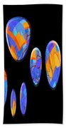 0986 Abstract Thought Beach Towel