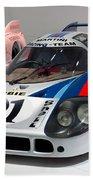 1971 Porsche 917 Lh Coupe Beach Towel