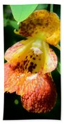 Spotted Jewelweed Beach Towel