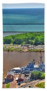 004 Visual Highs Of The Queen City Beach Towel