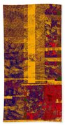 0161 Abstract Thought Beach Towel