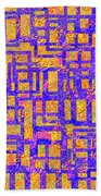 0194 Abstract Thought Beach Towel