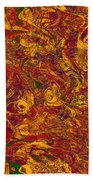 0202 Abstract Thought Beach Towel