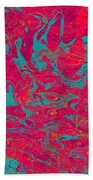 0217 Abstract Thought Beach Towel