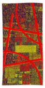 0225 Abstract Thought Beach Towel