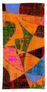 0267 Abstract Thought Beach Towel
