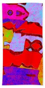 0319 Abstract Thought Beach Towel