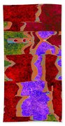 0322 Abstract Thought Beach Towel