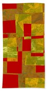 0393 Abstract Thought Beach Towel