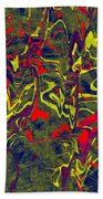 0399 Abstract Thought Beach Towel