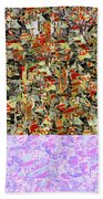 0415 Abstract Thought Beach Towel
