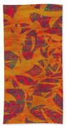 0450 Abstract Thought Beach Towel