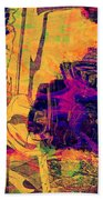 0548 Abstract Thought Beach Towel