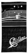 1907 Cadillac Model M Touring Grille Emblem Beach Towel