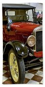 1926 Ford Model T Roadster Beach Towel