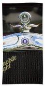 1928 Hupmobile Century Model E4 4 Door Sedan Beach Towel