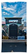 1931 Model T Ford Beach Towel